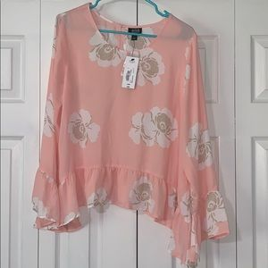 Floral blouse ANA size large